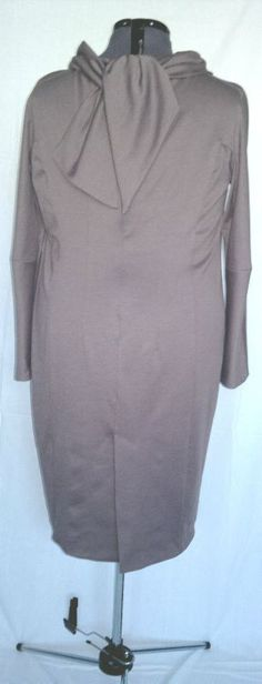 robe jersey taupe 5