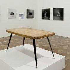 Charlotte Perriand at the Museum für Gestaltung Zürich Metal Furniture, Vintage Furniture, Furniture Design, Charlotte Perriand, Original Design, Museum, Table Desk, Wood Design, Wood And Metal