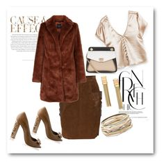 """Browny day!!!!!!!!"" by bv-b ❤ liked on Polyvore featuring Envi:, Kendra Scott and Lanvin"