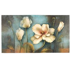 Enhance your home décor with the ever-blooming Softer Side Canvas Art Print! Kunst Poster, Arte Floral, Canvas Art Prints, Flower Art, Framed Art, Poppies, Poster Prints, Decoration, Drawings