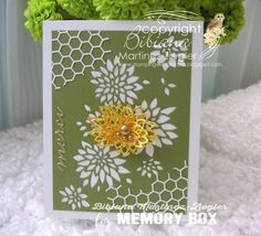 "Memory Box ""Chrysanthemum collage die"""