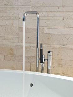 Style your bathroom with the VOLA FS1 free standing bath filler in polished chrome to get a modern and simple expression.   #VOLA #Chromebathroom #chrome #chromebathrooms #bathroomdesign #bathroom #bathrooms #bathroominspo #decor Bathroom Fixtures, Bathrooms, Standing Bath, Bathroom Inspo, Scandinavian Design, Polished Chrome, Sink, Simple, Modern