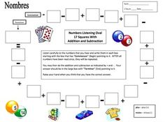 Spanish Numbers Math Listening Activity Football Theme by Sue Summers Spanish Activities, Back To School Activities, Interactive Activities, Listening Activities, Preschool Activities, French Numbers, Spanish Numbers, Spanish Basics, Spanish Lessons