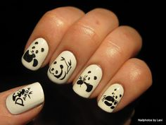 Nailphotos by Lani: Giant panda decals