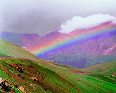 """""""I do set my bow in the cloud, and it shall be for a token of a covenant between me and the earth"""" Genesis 9:13"""