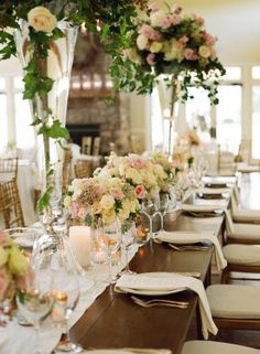 Wedding table settings from SMP