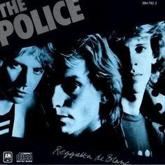 The Police/Regatta de Blanc: Andy Summers, Sting, Stuart Copeland. Great '80s band