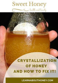 Crystallization of Honey and How to fix it! Some people believe that crystallized honey is ruined and need to be disposed of. But it is a natural process and you can fix your honey very easy! https://learnabouthoney.com