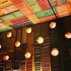 Ella Restaurant decor by Lolailos, via Flickr