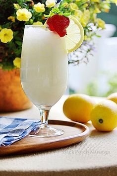 MissAimeeB's lemonade.  This recipe is from Miss Aimee B's Tearoom in St.Charles, Mo and it is the best lemonade I've ever had. It may sound strange to add the milk, but so delish!