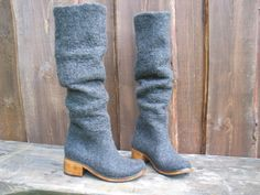 Hey, I found this really awesome Etsy listing at https://www.etsy.com/listing/159987059/hand-felted-high-boots-lyrica