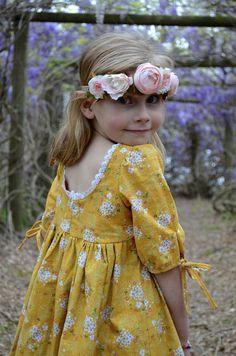 Maisie dress pattern Violette Field Threads