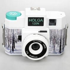 pretty snowy Holga 120N Gretchen Bleiler This is a really cool camera