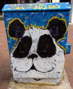 Smug Panda. Read our New blog post.  http://thebigforestuk.wordpress.com/2014/04/10/smug-panda-in-a-rush/