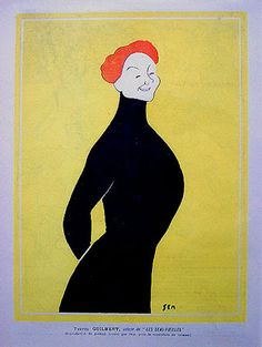Georges Goursat (1863–1934), known as Sem, was a French caricaturist famous during the Belle Époque.