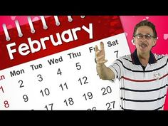 This February calendar song teaches about the month of February. Sing along and learn that February is the month of the year. Learn how to spell February. Calendar Songs, Calendar Time, Kids Calendar, February Song, February Calendar, Music For Kids, Kids Songs, Jack Hartmann, Kindergarten Songs