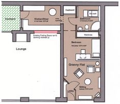 Floor plans for converting garage into apartment google - Garage conversion floor plans ...