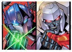Transformers/Justice League crossover.