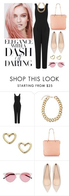 """""""Feminine and Strong"""" by franfran ❤ liked on Polyvore featuring Topshop, Marc by Marc Jacobs, Henri Bendel, Illesteva and Zara"""