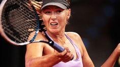 Maria Sharapova: The No 2 seed is beaten in California