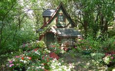 Real life fairytale cottage ~ http://ownerbuiltdesign.com ~ Residential design and drafting solutions for Hawaii homeowners, real estate investors, and contractors. Most projects ready for permit applications in 2 weeks or les