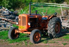 Nuffield Universal Three Tractor