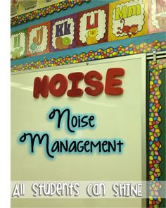 Noise management. If students are being too loud during whole group, take a letter down. If all five letters are gone, class owes time at recess.