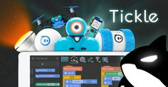 Tickle: Program Arduino, Drones, Robots, and Smart Homes from iPad Drones, Dash Robot, Dash And Dot, Science Week, Must Have Gadgets, Arduino Projects, Learn To Code, Student Teaching, Educational Technology