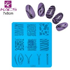 KADS CZ Series CZ02 zipper Design Nail Art Image Stamp Plates Manicure Template For DIY Creative 3d Nail art Decoration #clothing,#shoes,#jewelry,#women,#men,#hats,#watches,#belts,#fashion,#style