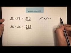 UNGLAUBLICH Multiplizieren OHNE zu rechnen! | Mathematik | Grundschule - YouTube