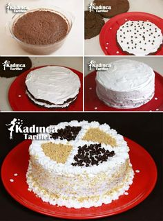 Cake Decorating Tips, Vanilla Cake, Eat, Desserts, Food, Cakes, Kitchens, Pies, Tailgate Desserts