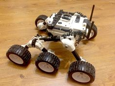 Great looking 3D printed Martian rover - downloadable design http://www.thingiverse.com/thing:1318414