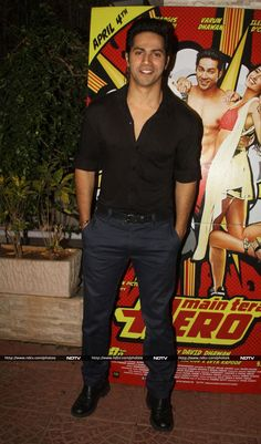 Varun Dhawan at Producer Ekta Kapoor's 'Main Tera Hero' Success Party