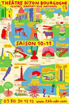 saison 10 11 paul cox affiche Théâtre dijon bourgogne
