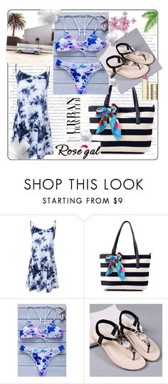 """""""ROSEGAL 13 / II"""" by ozil1982 ❤ liked on Polyvore featuring Stila"""