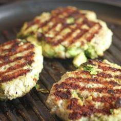 Chicken Avocado Burger - remove the poblano or jalapeño to make nightshade-free!