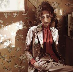 Photo: Glen Luchford Magazine: T September 2015 Styled: Jane How Hair: Anthony Turner Make-up: Lucia Pieroni Model: Binx Walton