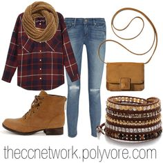 """Rugged Fall Outfit"" by theccnetwork on Polyvore"