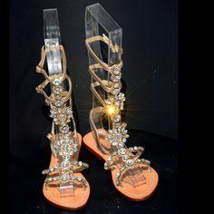3f7ec217aa5 18 Best Jeweled Gladiator Sandals images