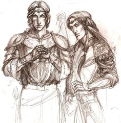 Feanarioni in Beleriand by Righon    Maedhros and Maglor the two eldest sons of Feanor