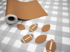 Leather Football Earrings with a Free Cut File - Clumsy Crafter - Soccer Photos Diy Leather Earrings, Diy Earrings, Leather Jewelry, Leather Gifts, Leather Craft, Leather Totes, Handmade Leather, Leather Bags, Vintage Leather