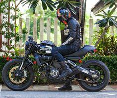 Ducati Scrambler  http://scramblerducati.com/en/special-bike/19-revolution