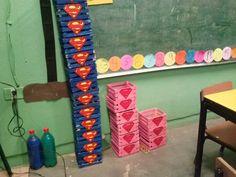 dulceros supergirl y superman