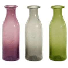 747da7ddc3d4 Various coloured Borali Large Bottle  christmasgiftideas  glassbottles   Shimu  giftideas