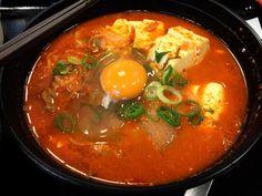 Korean Chige lunch at Matsuya : Nakasu-Kawabata