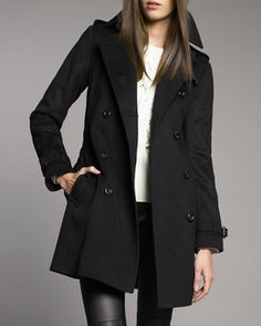 Buckingham Coat by Burberry London at Neiman Marcus.