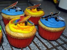 make skateboard cupcakes - Google Search
