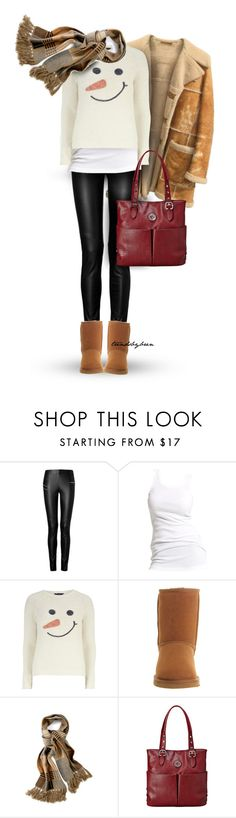 """""""Snowman"""" by trendsbybren ❤ liked on Polyvore featuring Joseph, Soaked in Luxury, Dorothy Perkins, UGG Australia, Mulberry, Relic, women's clothing, women, female and woman"""