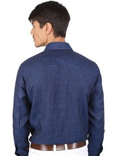 Get EXCLUSIVE offer on Mens Linen Formal Shirts which is  100% Linen made shirt and costs you £27.99 only.