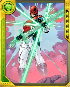 Excalibur card 2 Captain Britain from Marvel War of Heroes
